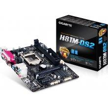 Emaplaat GIGABYTE GA-H81M-DS2, DDR3-SDRAM...