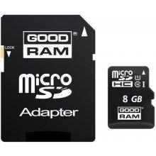 Флешка GOODRAM 8GB microSD mälukaart...