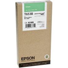 Тонер Epson чернила cartridge зелёный T 653...