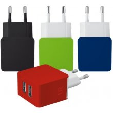 TRUST Dual Smartphone Wall Charger - black