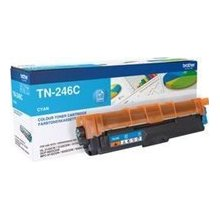 Тонер BROTHER TN-246 голубой HY TONER для...