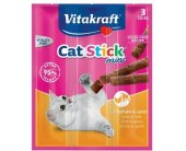 Vitakraft CAT STICK MINI KALKUN/LAMMAS (3tk)...