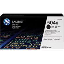 Тонер HP Toner CE 250 XD Twin Pack чёрный...