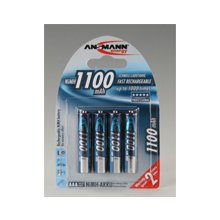 Ansmann 1x4 NiMH rech. батарея 1100 Micro...