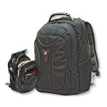 Wenger Carbon 17 black Notebook Backpack