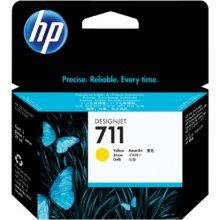 Tooner HP INC. tint HP 711 29ml kollane...