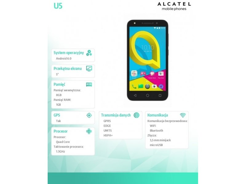 ALCATEL U5 3G BLUE