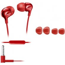 Philips SHE3705RD/00 In-ear, микрофон, Red