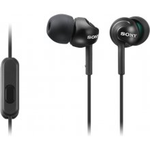 Sony In-ear kõrvaklapid EX series, Black...