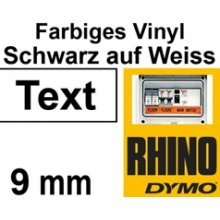 Dymo RHINO TAPE VINYL 9MM/5.5M