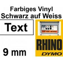Dymo RHINO TAPE VINYL 9MM/5.5M