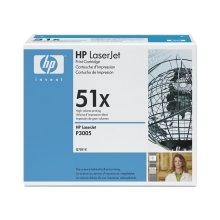 Тонер HP Q7551X Toner чёрный