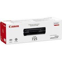 Тонер Canon TONER чёрный CRG-725/3484B002