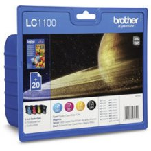 Тонер BROTHER LC1100 Value-Pack + 20x BP71...