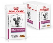 Royal Canin VD Cat Renal Chicken 12x85g