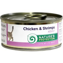 Natures Protection NP Cat Chicken&Shrimps...