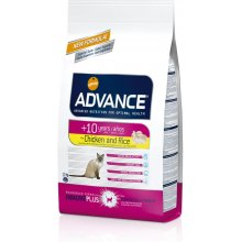 ADVANCE Cat Senior Chicken ja Rice 0,4kg