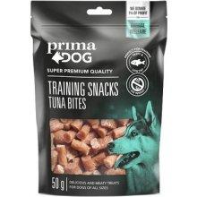 PrimaDog Training Snacks Tuna Bites - 50g |...