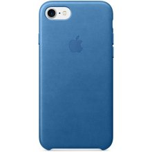 Apple Leder Case für iPhone 7 sea blue