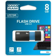 Флешка GOODRAM SL!de 8GB USB2.0 чёрный