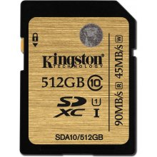 Флешка KINGSTON 512GB SDXC Class 10 UHS-I...