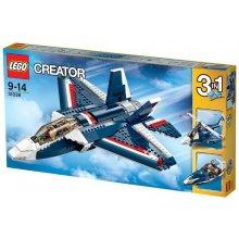LEGO Blue jet