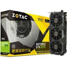Videokaart ZOTAC GeForce GTX 1070 AMP...