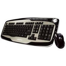 Клавиатура GIGABYTE +MOUSE RUS WRL/BLACK...