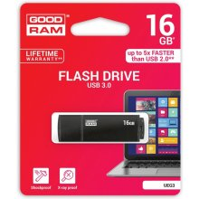 Флешка GOODRAM EDGE 16GB USB3.0 чёрный