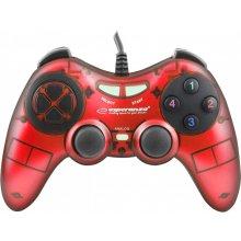 ESPERANZA GAMEPAD PC USB FIGHTER RED