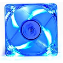 Deepcool Xfan 80 mm, transparent, with blue...