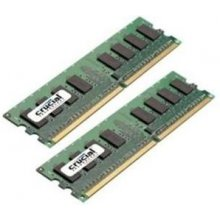 Mälu Crucial 4GB KIT (2GBX2) DDR2 800MHZ