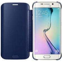 Samsung Clear View чехол für S6 edge зелёный