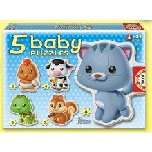 Educa Baby Puzzle Animals