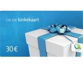 OX.ee kinkekaart 30 €