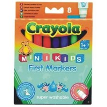 CRAYOLA Felt tip pens washable mini 8 pcs