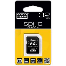 Флешка GOODRAM SD Card 32GB SDHC class 4...
