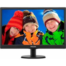 Monitor Philips 193V5LSB2, 18.5, 1366 x 768...