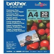 BROTHER Paper 20 sheets glossy A4