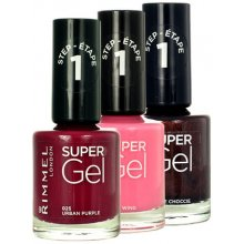Rimmel London Super Gel 025 Urban Purple...