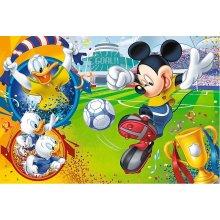 TREFL Puzzle 100 pcs - Mickey hiir on the...