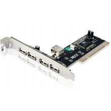 Gembird USB 2.0 4+1 port PCI host adapter