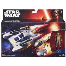 HASBRO Star Wars Vehicles deluxe figures to...