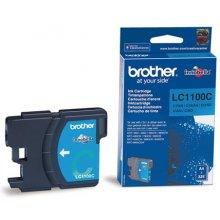 Тонер BROTHER чернила LC1100C голубой |...