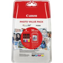 Tooner Canon CLI-551 foto Value Pack...