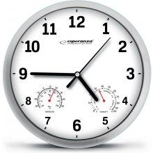ESPERANZA WALL CLOCK LYON White