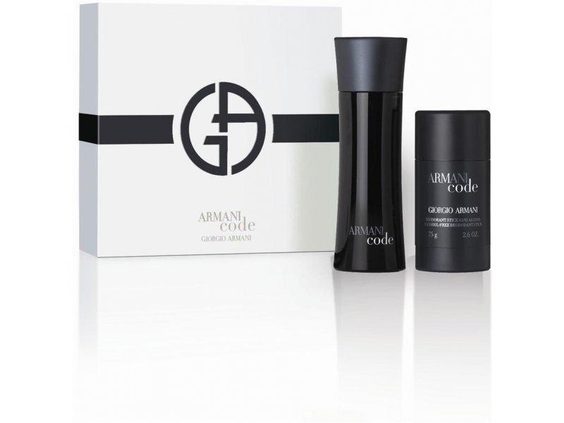 90fbaa915d5 Giorgio Armani black Code Pour Homme Eau de Toilette 75ml + deostick ...
