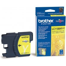 Тонер BROTHER чернила LC1100HYY жёлтый |...