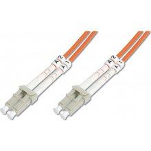 DIGITUS Fiber optic patch cord L C to LC MM...