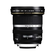 Canon EF-S 10-22mm f/3.5-4.5, SLR, 13/10...